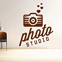 DecorVilla Photo Studio Wall Wall Sticker and Decal (PVC Vinyl, 58 x 76 cm)