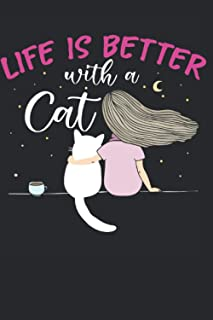 Life Is Better With A Cat: Cat Vaccination Record Book | Shots Record Card | Cat Immunization Log, Complete Pet Profile | ...