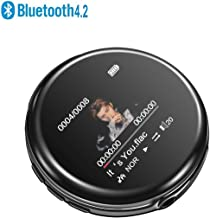$29 Get MP3 Player - [2019 April Newest Model] Bluetooth 4.2 Compact and Lightweight,Mellow and Stylish Music Player, 35 Hours Playback Time, HiFi Sound with FM Radio & Voice Recorder