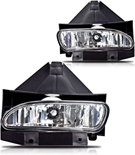 Winjet WJ30-0086-09 OEM Series for [1999-2004 Ford Mustang GT] Clear Driving Fog Lights