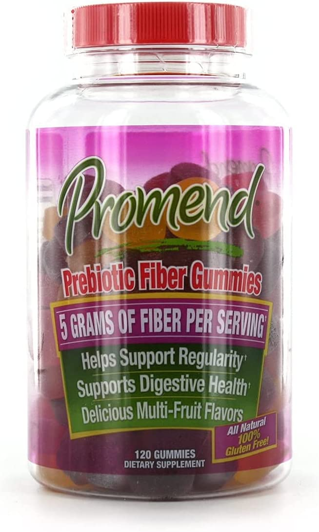 Promend Prebiotic Fiber Gummies 120 贈物 Pack 至上 2 of ea