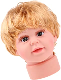 Lovely Realistic Baby Child Head Mannequin Head With Wig For Hat Cap Display