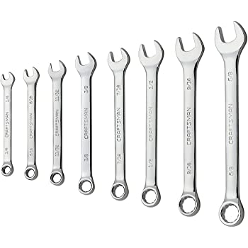 Craftsman 8-Piece Standard 12 Point Combination Wrench Set