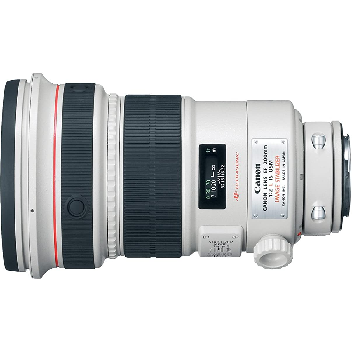 Canon EF 200mm f/2L IS Telephoto Lens for Canon SLR Cameras