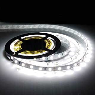 12V 5M SMD 5630 300LED Waterproof Flexible Warm Cool White Fairy Strip Light