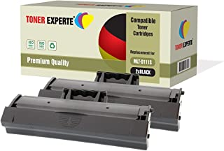 Pack de 2 TONER EXPERTE® Compatibles MLT-D111S Cartuchos de Tóner Láser para Samsung Xpress SL-M2020, M2020W, M2021, M2021W, M2022, M2022W, M2026, M2026W, M2070, M2070W, M2070FW, M2070F, M2071W, M2078