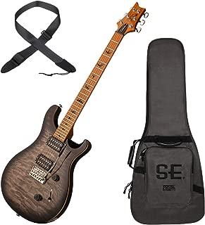 PRS CU4QTTCA SE Custom 24 Roasted Maple Limited Electric Guitar (CA - Charcoal B