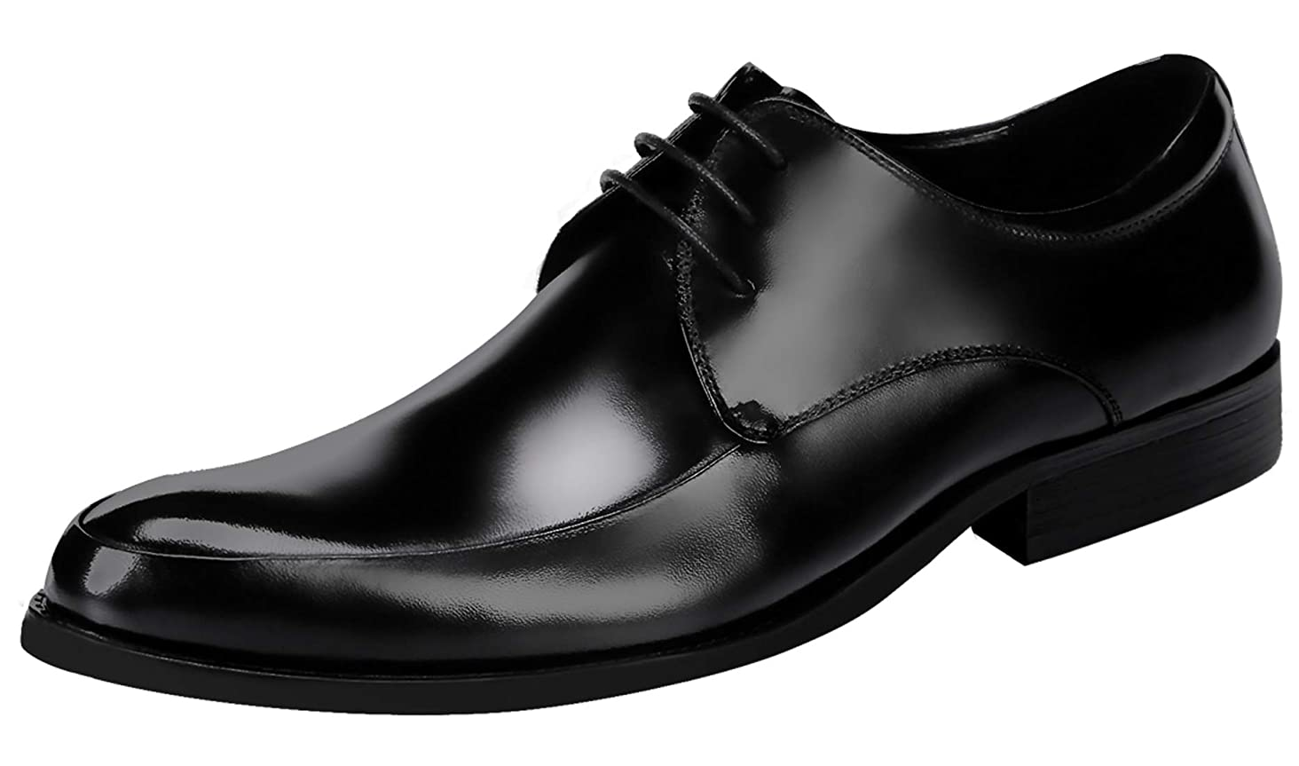Mens Dress Shoes Oxford for Men Classic Formal Leather Lace Up Derby Wedding Shoes