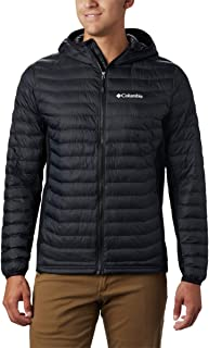 Columbia Men's Powder Pass Hooded Jacket, Insulated, Water Resistant