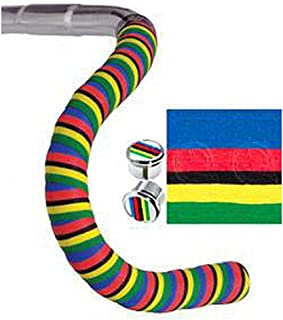 Cinelli Cork handlebar tape, stripes - world champion