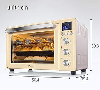ZJJL Horno doméstico de 32L con ajuste de temperatura 0-230 ° C y sincronización inteligente 1500W Horno de puerta de vidrio de tres capas