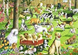 Best Jigsaw Puzzles For Adults - Ravensburger at The Dog Park Large Format 500 Review