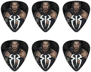 WWE Roman Reigns Locked and Loaded Novelty Guitar Picks Medium Gauge - Set of 6
