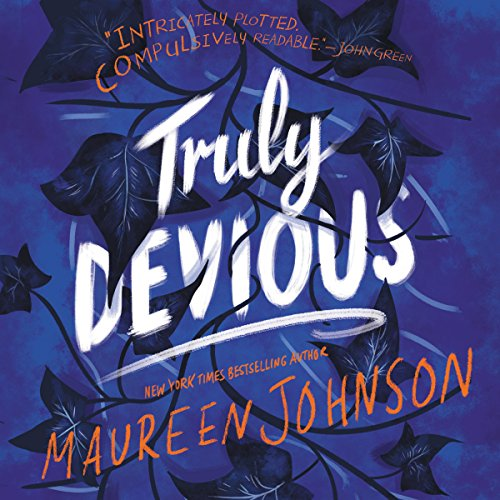 Truly Devious audiobook cover art