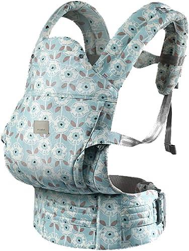 TLTLYEBD Porte-bébé, Bébé Ultra-léger Calins D'été Multi-Fonction Four Seasons Universal Baby Carrier Baby Strap Support MultiCouleure en Option ( Couleur   Bleu )