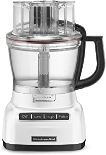KitchenAid KFP1333WH 13-Cup Food Processor with ExactSlice System - White