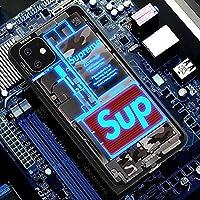 着信で光る IPhone12 スマート発光 カバー 保護 ン スマホケース IPhone12Pro 発光 携帯電話 ケース IPhone12 ProMax バー スマホケース 耐衝撃おしゃれ個性的夜光 薄型 軽量、オールインクルーシブアンチフォールカップルパーソナリテ,B-iphone7/8