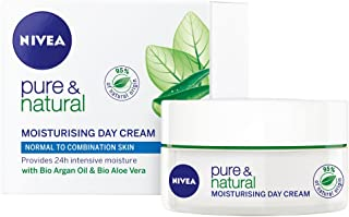 NIVEA Pure & Natural Moisturising Day Cream, 30ml