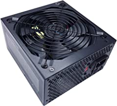 Apevia ATX-SP700W Spirit ATX Power Supply with Auto-Thermally Controlled 135mm Fan, 115/230V Switch, All Protections