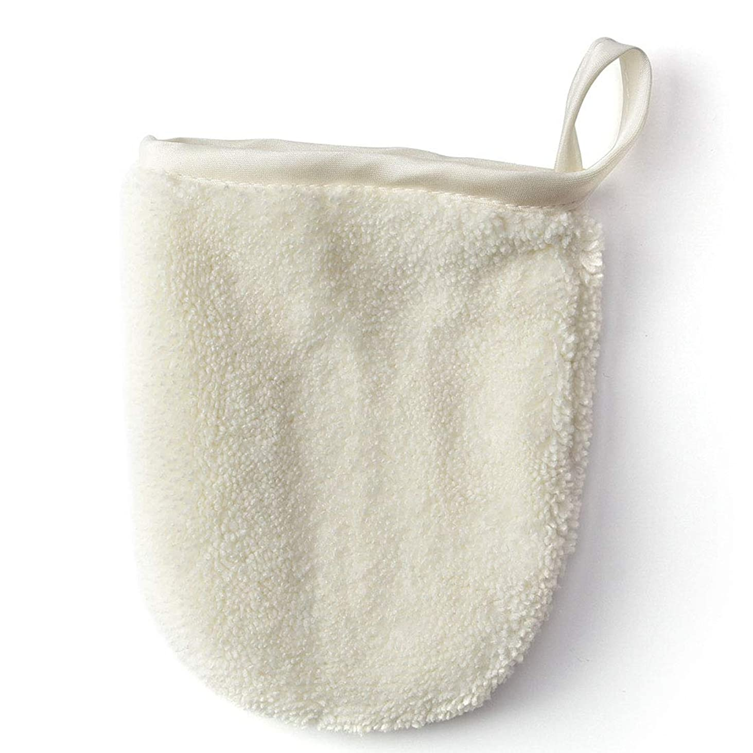 失敗交換コカインメイク落とし布マジックタオル、再使用可能な洗顔タオル - 化学薬品は、ただ水で化粧をすぐに取除きます(5PCS),White