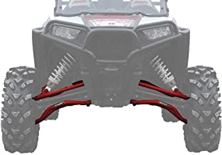 SuperATV Polaris RZR 1000 High Clearance Forward Offset Front A-Arms (2014-2016) - Red