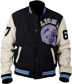 JJKKFG-H USA Wrestling Mens Cool Baseball Uniform Jacket Sport Coat