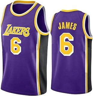 PANGOIE James 6# Basketball Jerseys Basketball Training Uniform Swingman Jersey Embroidery T-Shirts Vests for Men's Women