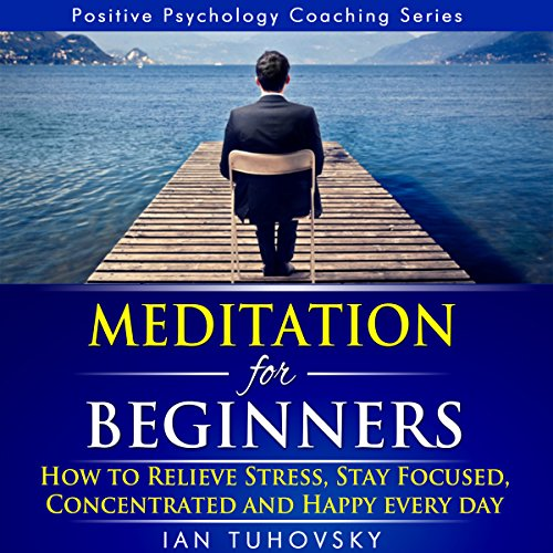 Meditation for Beginners: How to Relieve Stress, Stay Focused, Concentrated, and Happy Everyday audiobook cover art