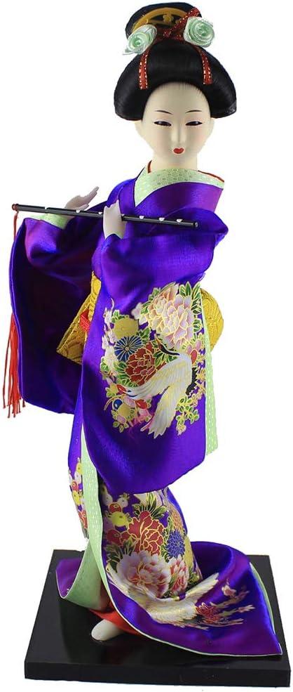 Heartrace 12'' Tall Many popular brands Oriental Elegant Japanese Doll Kimono G Geisha Maiko