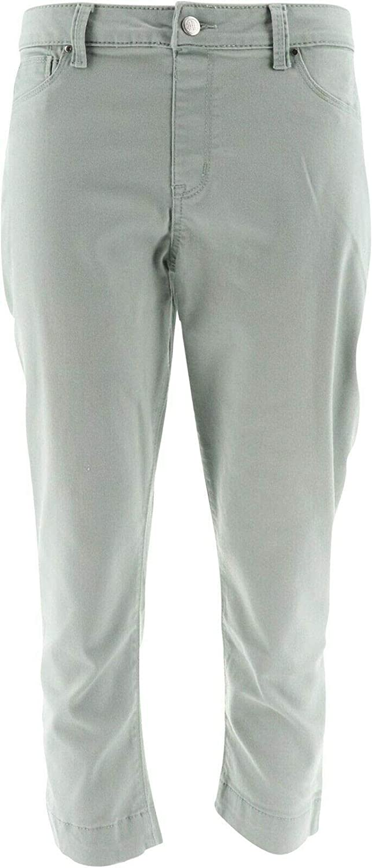 Laurie Felt Power Silky Denim Pull-On Capri Jeans A305683