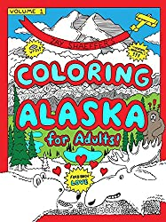 coloring alaska funny coloring book for adults