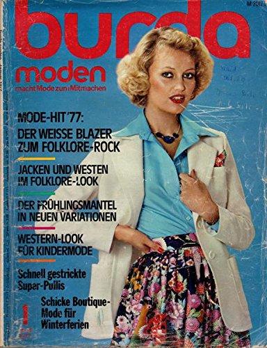 Burda Moden 01/1977 Mode-Hit 1977: Der weiße Blazer zum Faltenrock