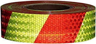 RuleaxAsi 1# Shining Reflective Safety Warning Tape Self Adhesive Twill Printing Reflective Tape for Car