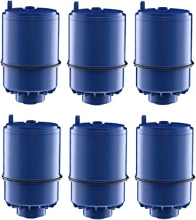 EcoAqua Filter Replacement Compatible with Pur Faucet Water Filter, 6-Pack