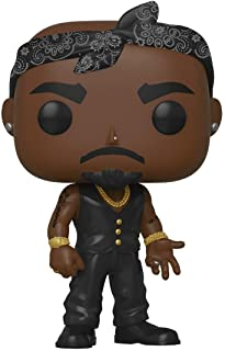 Funko POP! Rocks: Tupac - Vest with Bandana, Multicolour