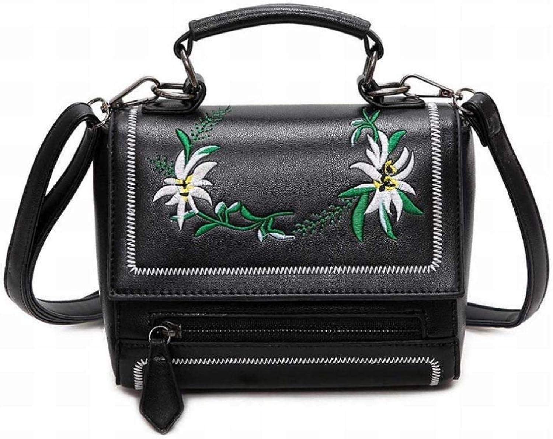 GZ Damen Clutch Handtaschen Handtaschen Handtaschen Mode Damen Leder Schultertasche Messenger Bag Stickerei Entworfen B07L23WRJ7  Hervorragende Funktion d5968d