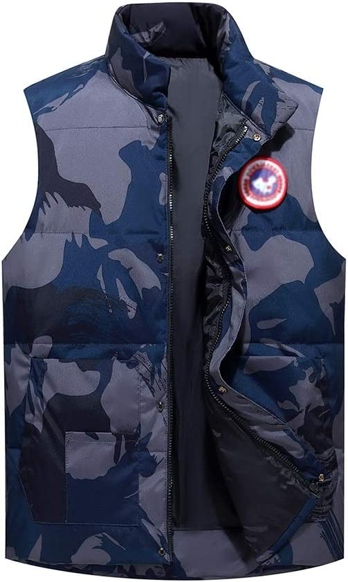 Quality Puffer Vest Men Quilted Ranking TOP2 Sleeveless Max 56% OFF Jackets Winter Padded