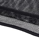 YiZYiF Herren Unterhemd Netzhemd Netzshirt Kurzarm Transparent Funktionsshirt M L XL (M, Schwarz) - 6