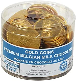 Kosher Nut-free Dairy Gold Chocolate Coin Tub