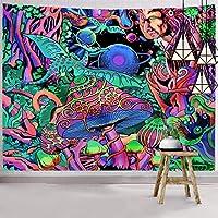 Hexagram Trippy Wall Hanging Tapestry Hippie Art