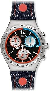Swatch Women's YCS571 Since 2013 Year-Round Chronograph Quartz Multicolour Watch