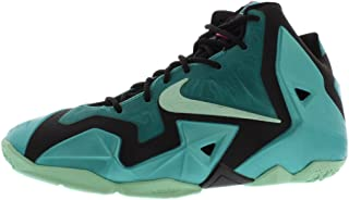 Lebron XI (GS) Kid Shoes Sport Turquoise/Black/Medium Mint 621712-303