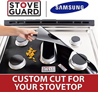 gas stove clean mats