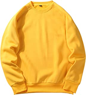 Halfword Mens Sweatshirts - Mens Fleece Sweatshirt - Crew Neck with Long Sleeves