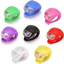 Fiyuer led sicherheitslicht Clip 8 Pcs licht Clip Fahrrad Mini Blinklicht fahrradlicht Set für läufer Hunde fahrräder Kinderwagen