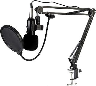 Micrófono de condensador USB, BM-900 Kit de micrófono de
