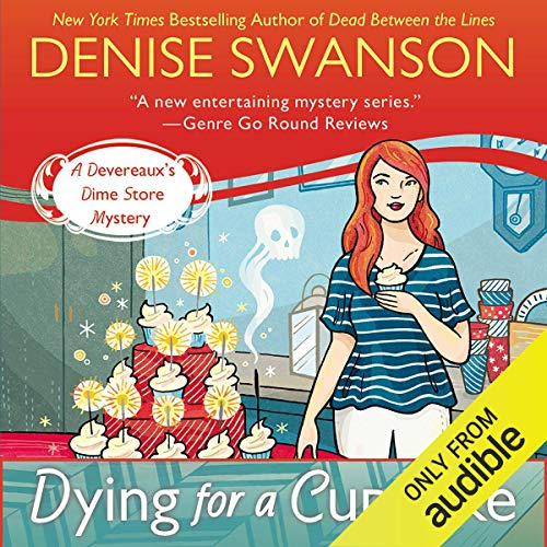 Dying for a Cupcake audiobook cover art