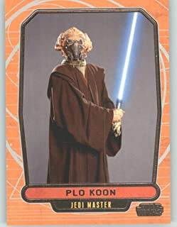 2012 Star Wars Galactic Files #82 Plo Koon (Non-Sport Collectible Trading Cards)