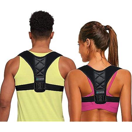 Back Brace Posture Corrector for Women Men Adjustable Back Straightener Comfortable Posture Trainer for Spinal Alignment and Posture Suppor USA Designed