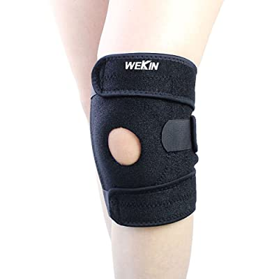 Wekin Adjustable Elbow Brace/Double Patella Kne...